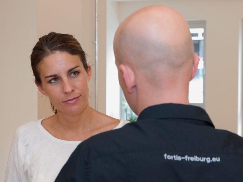 Heidi Gespräche Sebastian im Rücken